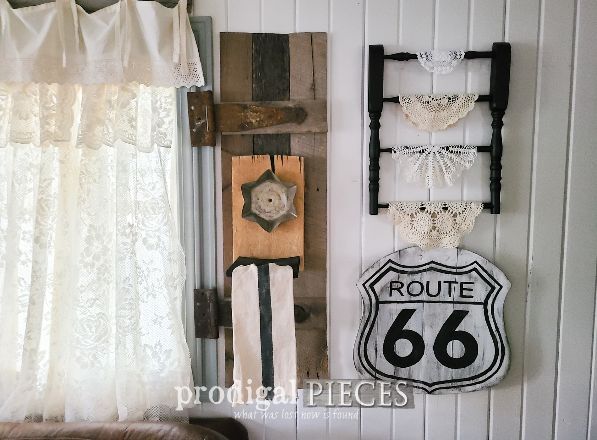 Featured Upcycled Broken Chair into Farmhouse Decor by Larissa of Prodigal Pieces   proidigalpieces.com #prodigalpieces #diy #farmhouse #upcycled #home #homedecor