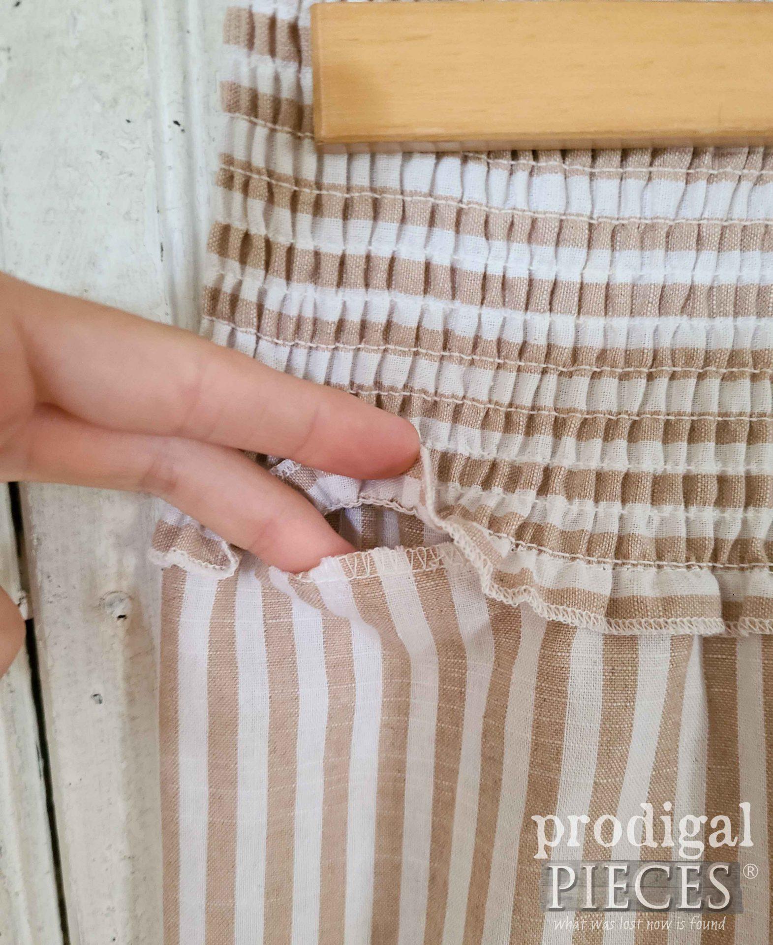 Open Seam on Cotton Pants | prodgialpieces.com