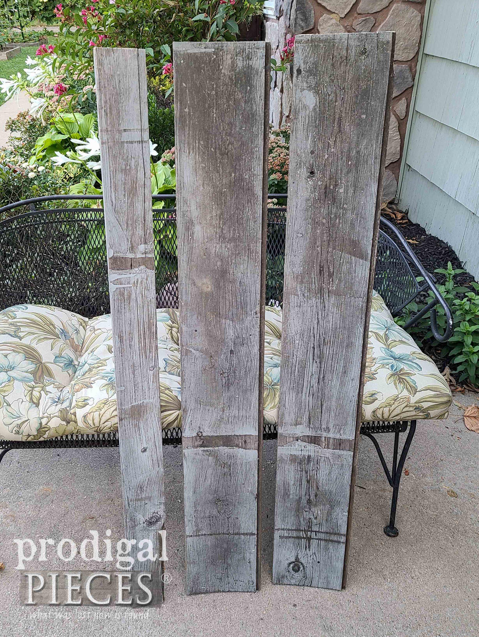 Reclaimed Wood Before Repurposing   prodigalpieces.com