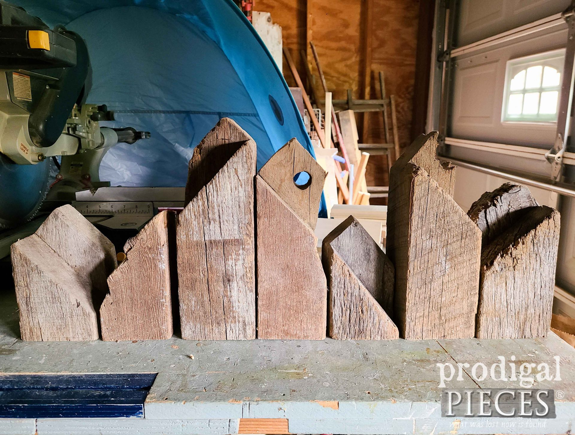 Reclaimed Wood Houses Setup in Raw | prodigalpieces.com #prodigalpieces
