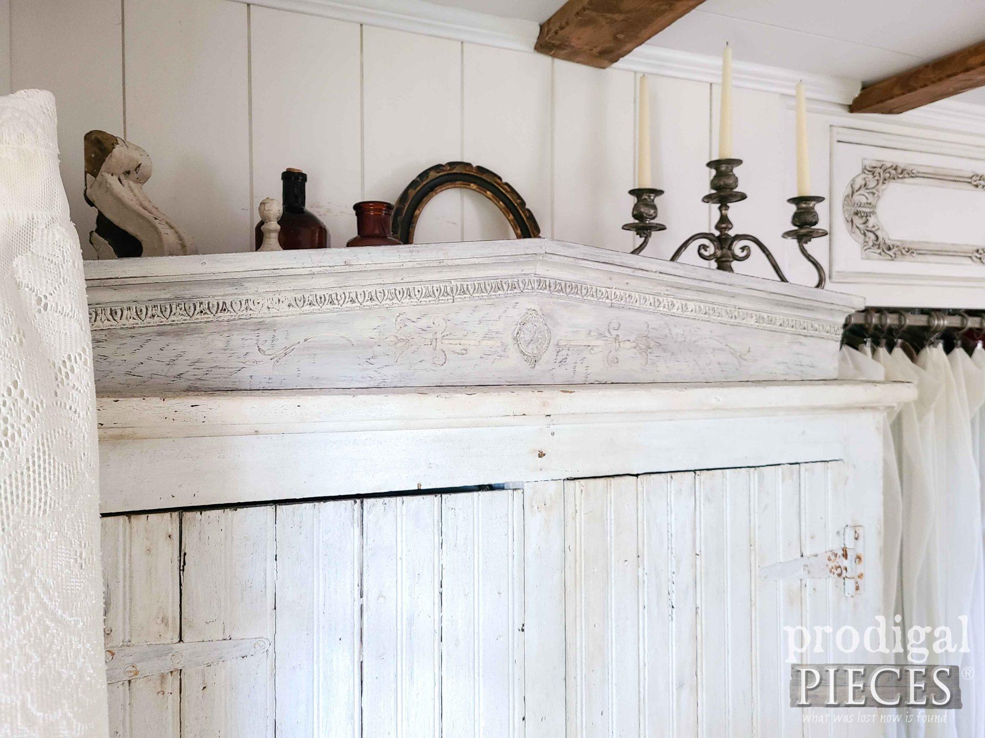 Antique Farmhouse Bedroom with DIY Decor by Larissa of Prodigal Pieces | prodigalpieces.com #prodigalpieces #rustic #vintage #home #farmhouse