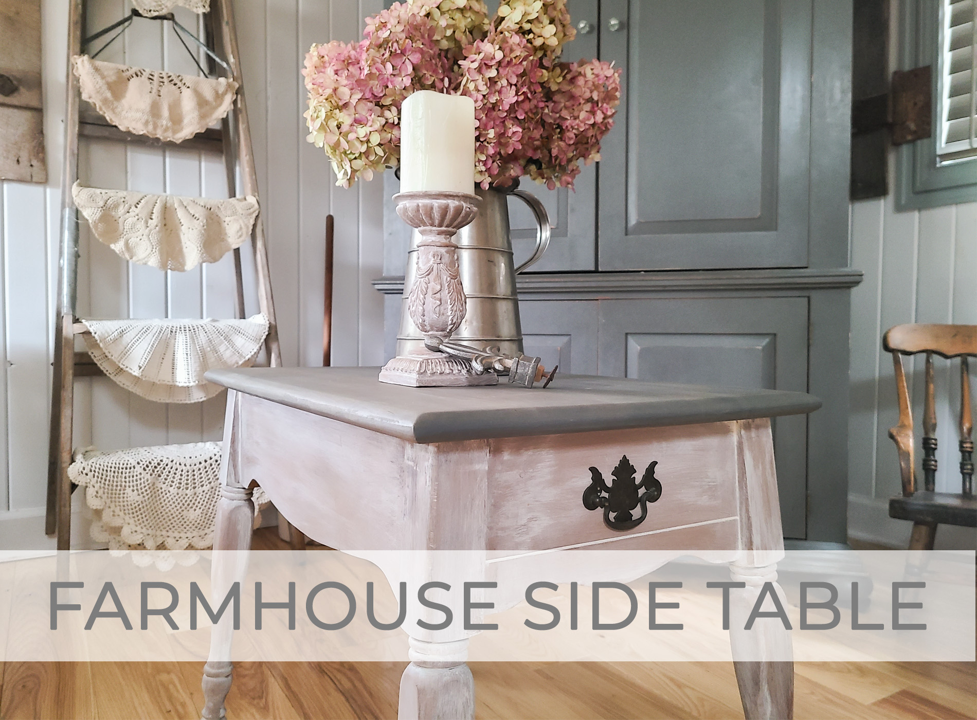 Vintage Farmhouse Table Makeover by Larissa of Prodigal Pieces   prodigalpieces.com #prodigalpieces