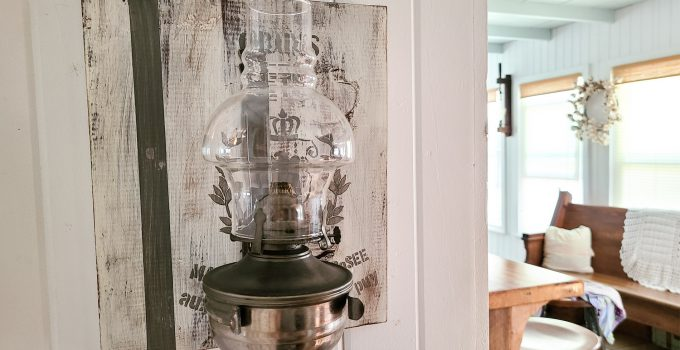 Rustic Chic Home Decor from Thrifty Finds