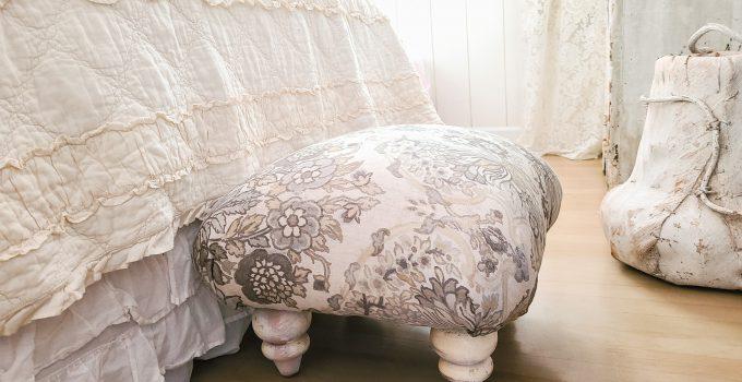 Upcycled Ottoman ~ DIY Furniture Build