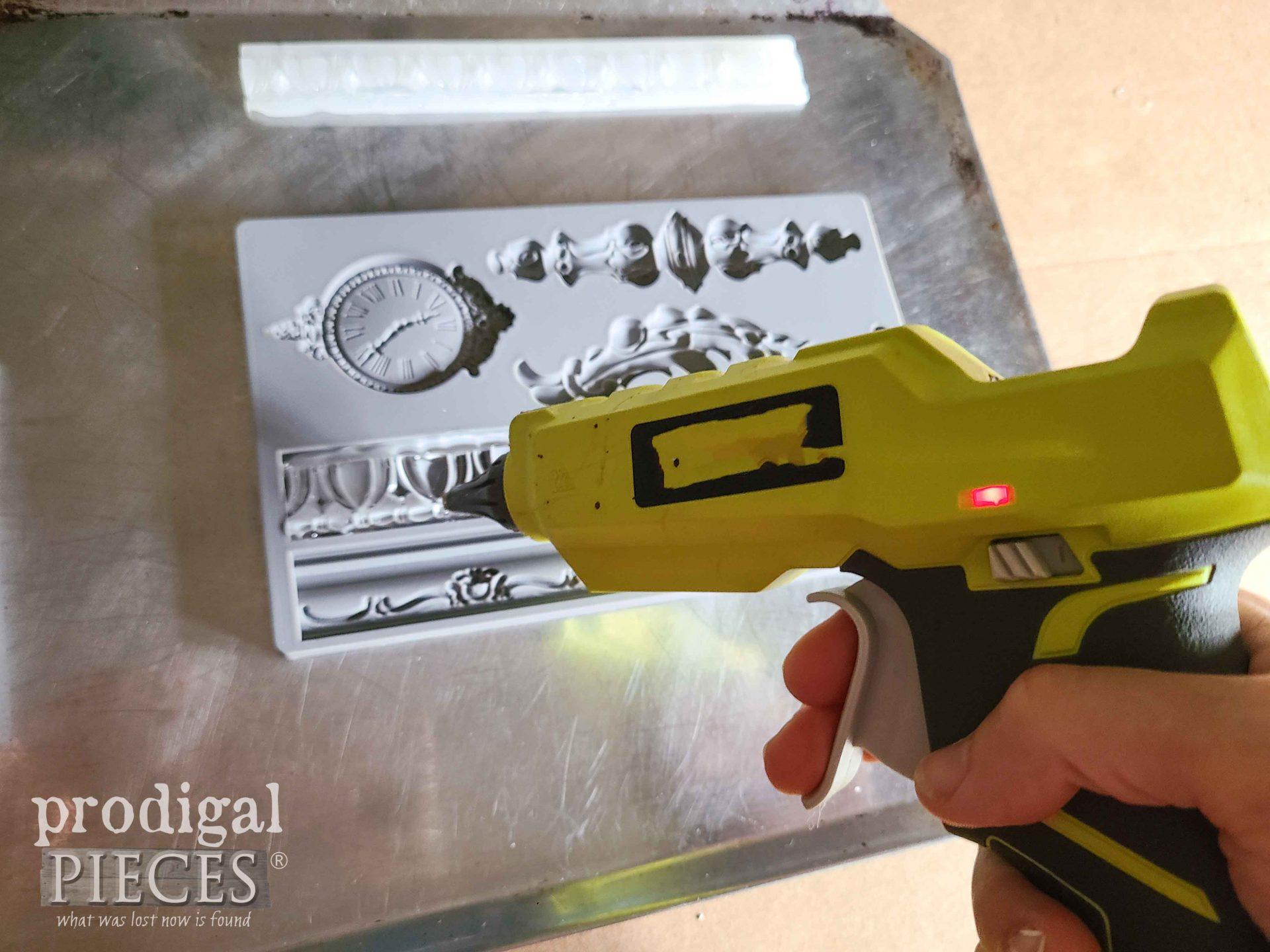 Making Molding with Hot Glue | prodigalpieces.com