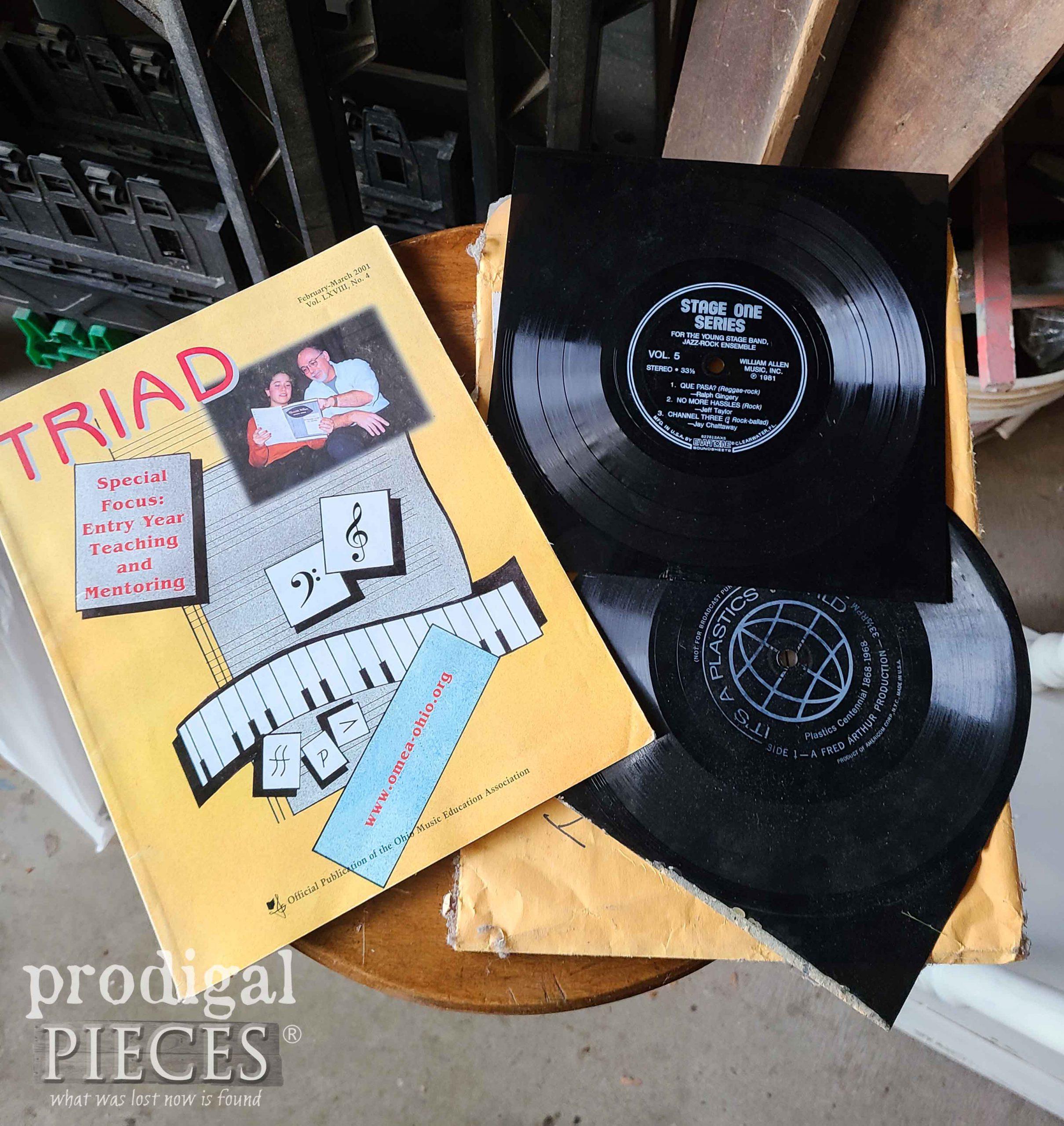 Found Music Teacher Supplies Inside Filing Cabinets   prodigalpieces.com