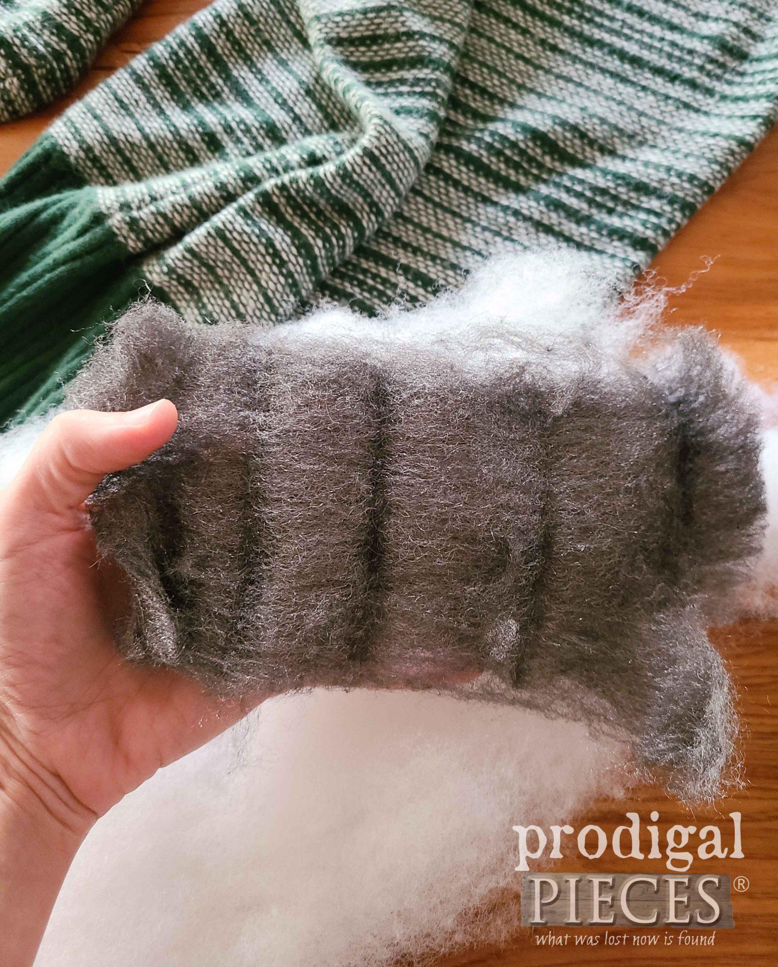 Opened Steel Wool Sheet | prodigalpieces.com