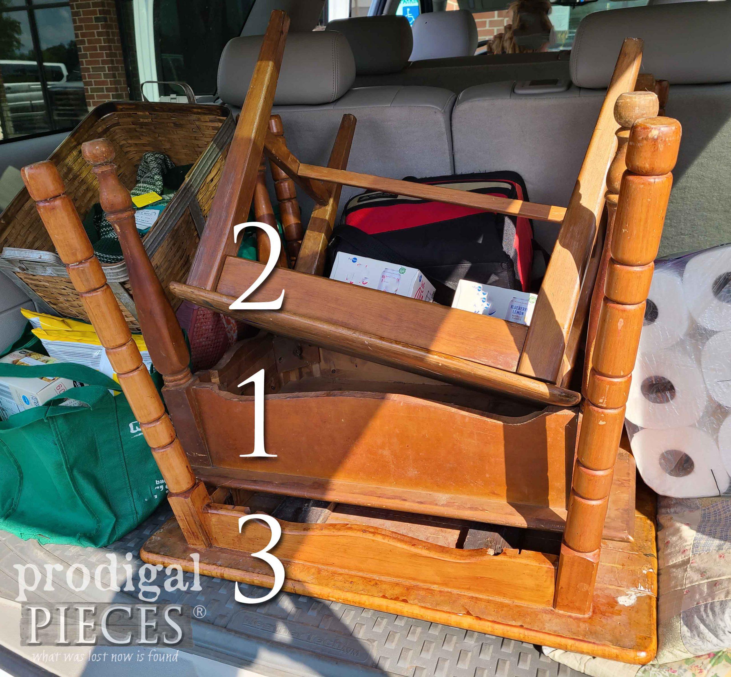 Trio Set of Thrifted Tables | prodigalpieces.com