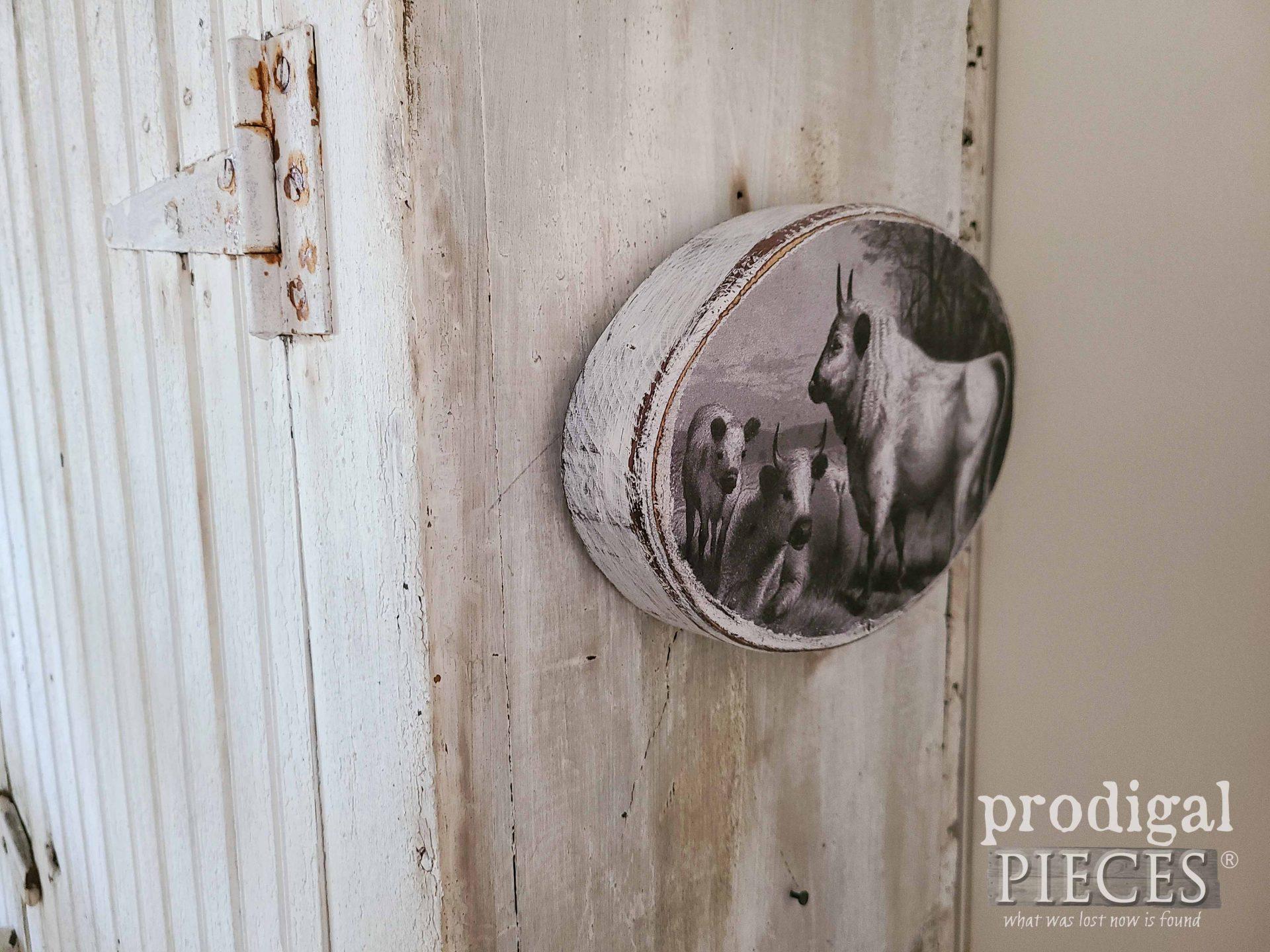 DIY Cow Print Art for Farmhouse Decor by Larissa of Prodigal Pieces | prodigalpieces.com #prodigalpieces #cow #farmhouse #art