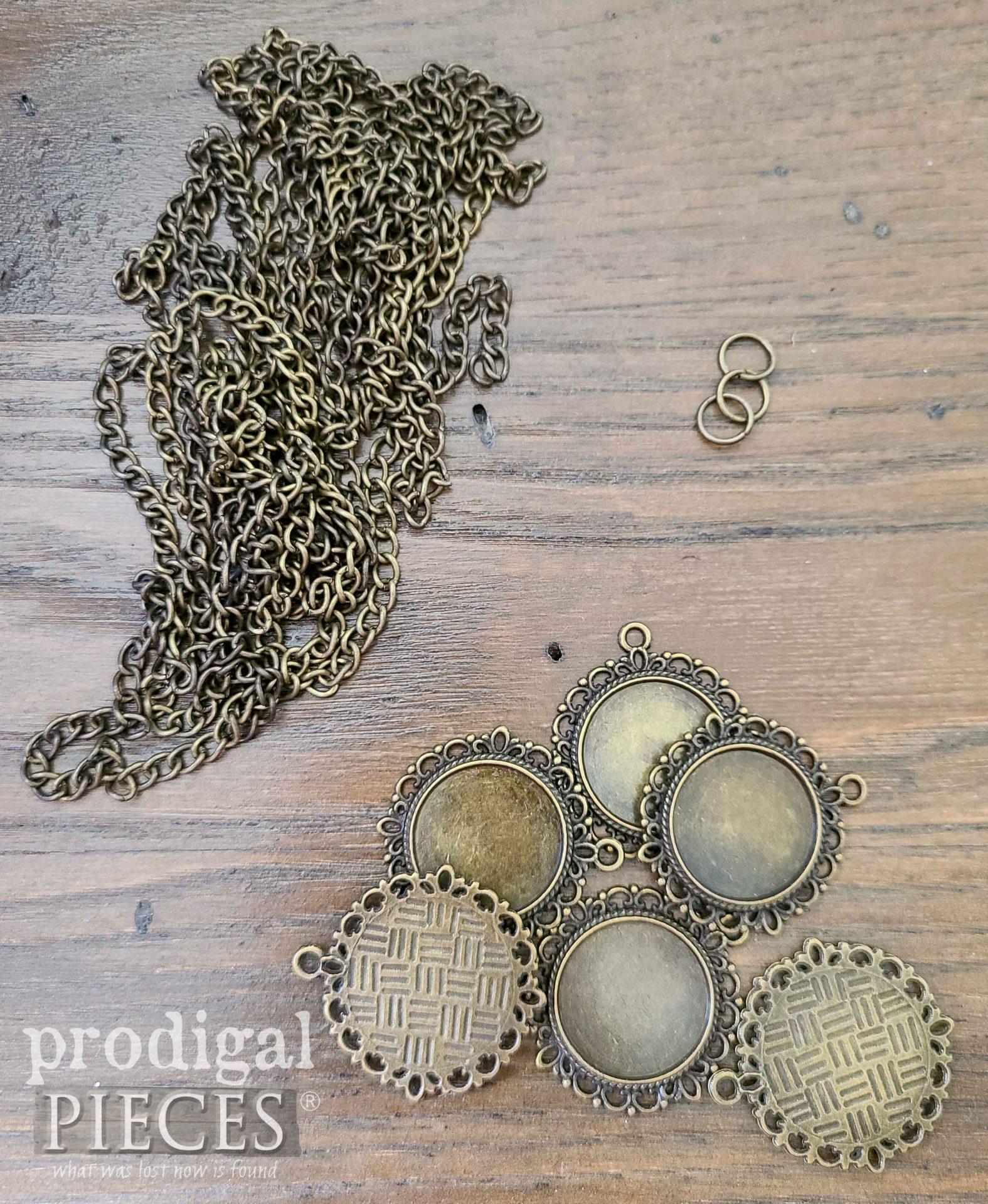 DIY Resin Necklace Pendant Materials   prodigalpieces.com