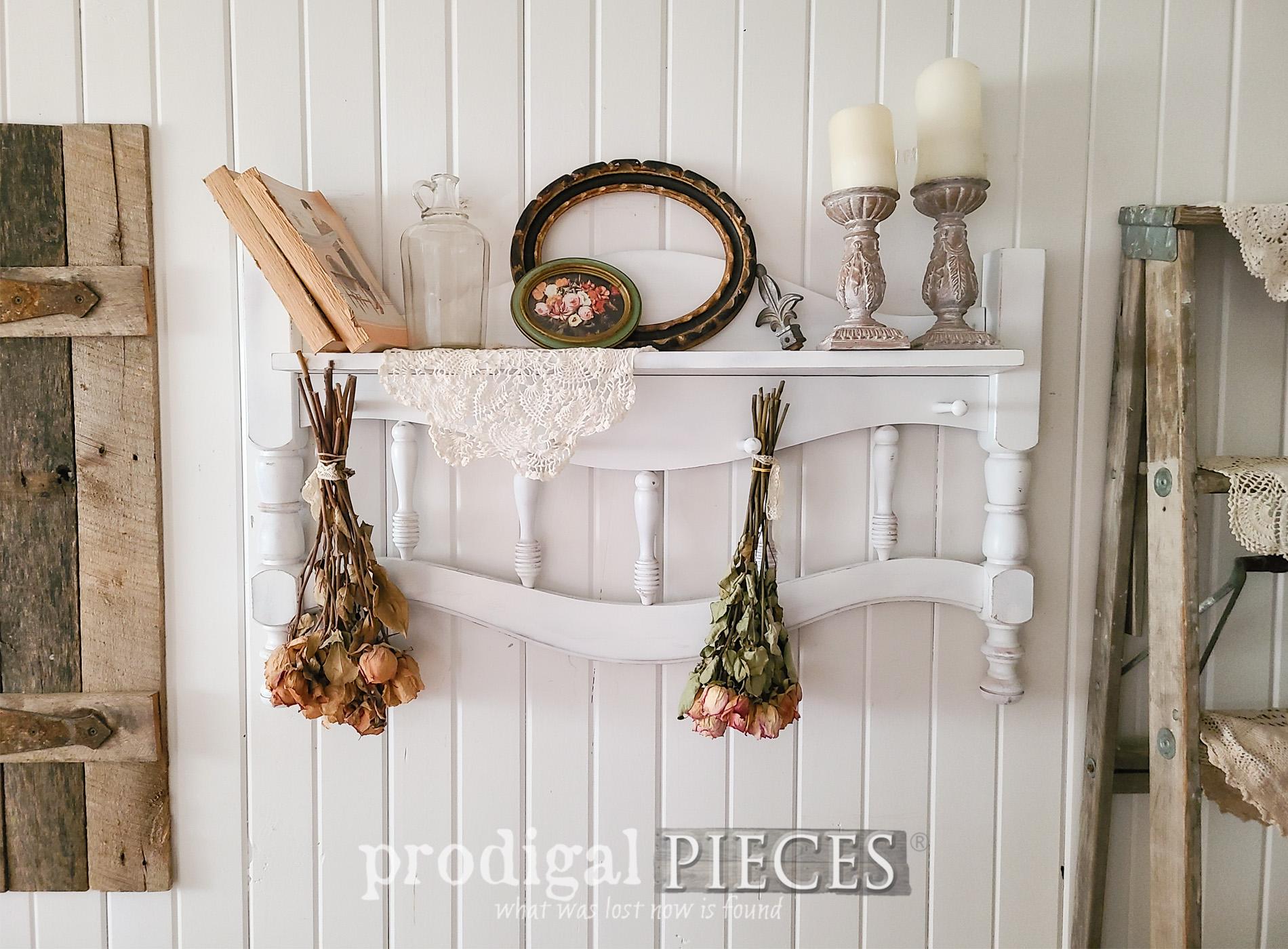 Featured Upcycled Headboard by Larissa of Prodigal Pieces | prodigalpieces.com #prodigalpieces #upcycled #diy #farmhouse #cottage #shabbychic #homedecor